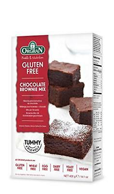NEW Orgran Free From Chocolate Brownie Mix 400 g (Pack of 3)