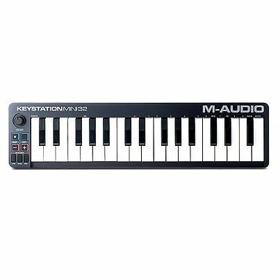 M Audio Keystation Mini 32 MkII USB MIDI Keyboard Controller With Ableton Liv...