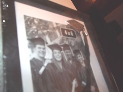 "Special Moments 4"" X 6"" Picture Frame  Black Graduation With Silver Cap & Tassel"