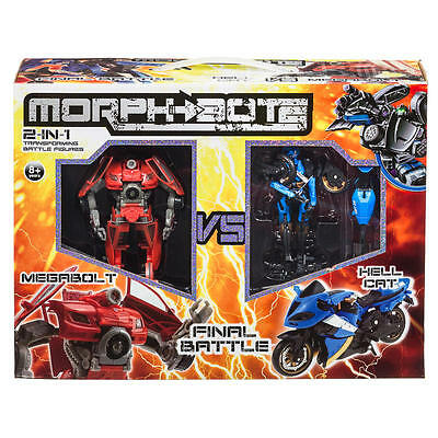 Morphbots 2 in 1 transforming Battle Figures Morphbotz Morph Bots Botz New