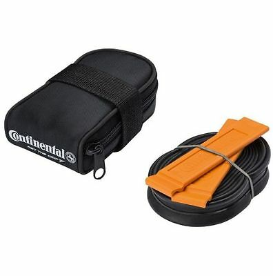 Continental Road Cycle Saddle Bag Tyre Levers Inner Tube 700C 18-25 Presta 60mm