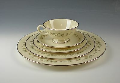 Lenox China BROOKDALE 5pc Place Setting(s) Excellent