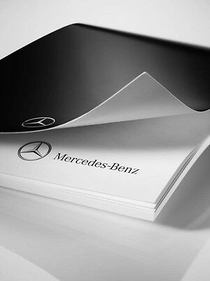 Genuine Mercedes-Benz Black/White A4 Writing Note Pad - 50 Sheets ZB66956279 NEW