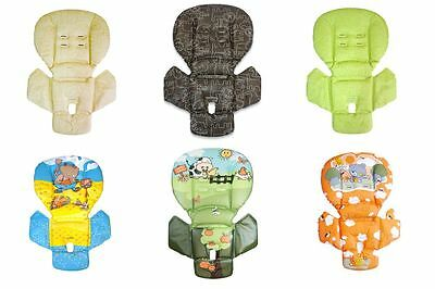 Baby dan highchair seat cushion fabric cover for infant for Housse de chaise peg perego prima pappa