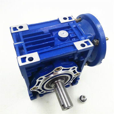 NMRV030 Worm Gear Speed Reducer Ratio 10:1 56B14 for  Stepper Motor 1400r/min