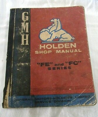 Holden FE and FC Series Shop Manual