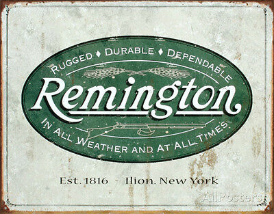 Remington Tin Sign - 16x12