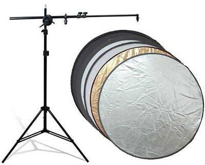 NEW 60cm 5-in-1 Light Mulit Collapsible disc Reflector set for Photography#F