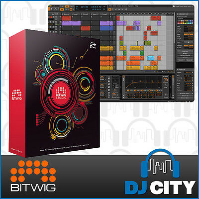 Bitwig Studio DAW Digital Audio Workstation Production Software - BNIB - DJ City