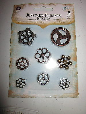 Prima - JUNKYARD FINDINGS - Faucet Wheels - 3 only -NRS - no.5