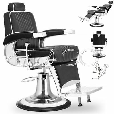 Jacques Seban Poltrona Professionale Barber Mustang Nera Barbiere Barber Shop