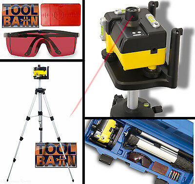 Professional 2 In 1 Rotary Laser Level Kit