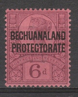 Bechuanaland 1897 Qv Protectorate 6D