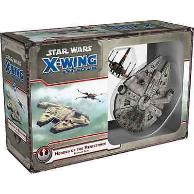 Star Wars X-Wing Heroes of the Resistance Expansion Pack INGLESE DISPONIBILE