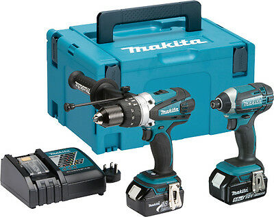 Makita 2 piece Combo Kit LXT 2x5.0Ah 18V DLX2145TJ FREE NEXT DAY DELIVERY