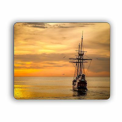 Tall Ship in the Morning Computer Mouse Pad Desktop PC Mousepad