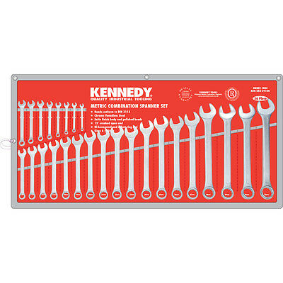Kennedy Industrial 6-32Mm Cv Combination Spanner Set 26Pc