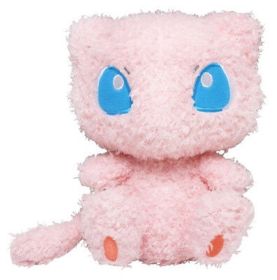 1x NEW Authentic Sealed Fluffy Mew Plush Sekiguchi Pokemon Moko Moko Collection