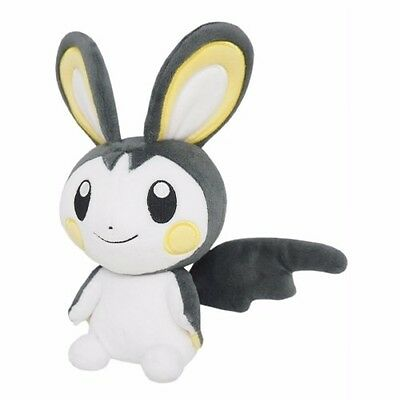 1x Genuine Sanei (PP48) Emolga Stuffed Plush Doll Pokemon Go All Star Collection