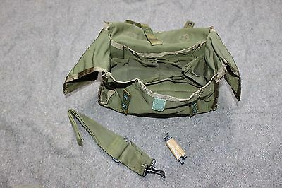 US Army Military Nylon 1st Aid Camping Survival Shooter Ammo Can Bag USA OD Tool