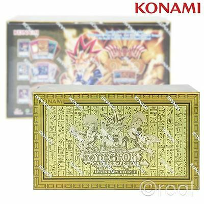 New Yu-Gi-Oh! Legendary Decks 2 II Box Set Trading Cards YuGiOh Konami Official