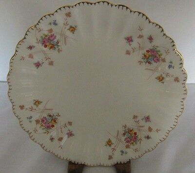"""American Limoges New Princess 22K Gold Scalloped 7 1/4"""" Salad Plate (11 Avail)"""