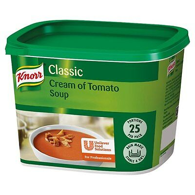 Knorr Classic Cream of Tomato Soup 25 Portions Catering Size Bulk Buy
