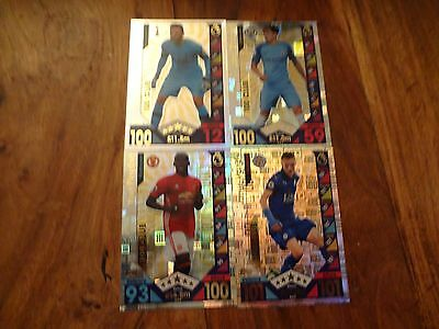 Match Attax 2016-2017 Select Your Limited Edition-100 Club-Legends Cards