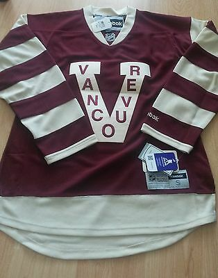 Kevin Bieksa Vancouver Reebok NHL Men's Premier Jersey Small New With Tags