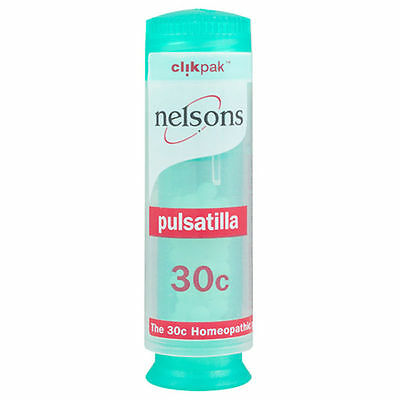 Nelsons Pulsatilla 30c Homeopathic Potency