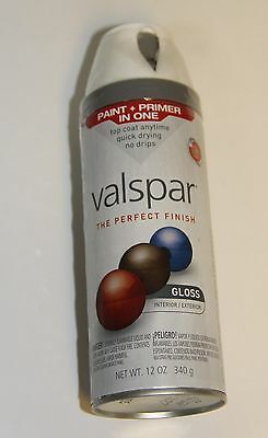Valspar 85000 12 Oz. Twist And Spray Paint - Fast Drying - White Gloss