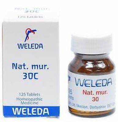 Weleda Nat Mur 30C - 125 Tablets