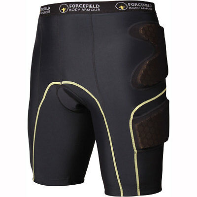 Motorcycle Forcefield Contakt Shorts Level 1 Black XL UK Seller