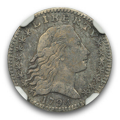 1794 H/10C Flowing Hair Half Dime NGC XF40