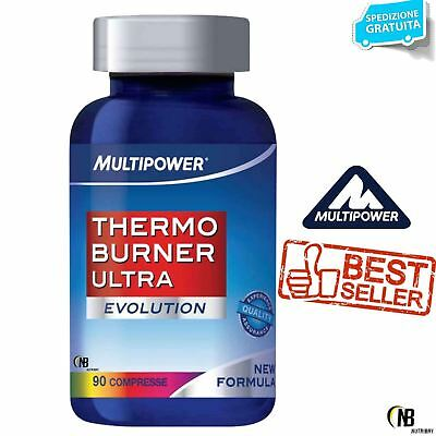 MULTIPOWER THERMO BURNER ULTRA EVOLUTION 90 cpr. Termogenico Dimagrante