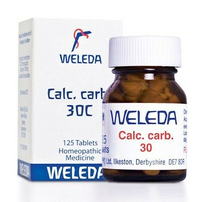 Weleda Calc Carb 30C - 125 Tablets