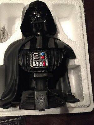 Star Wars Darth Vader Mini Bust Gentle Giant Empire Strikes Back Only 5,000, NEW