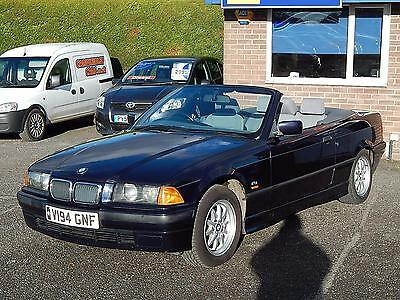 1999 V BMW 318 1.8i CONVERTIBLE ONLY 97k ONLY 3 OWNERS ABSOLUTE LEGEND