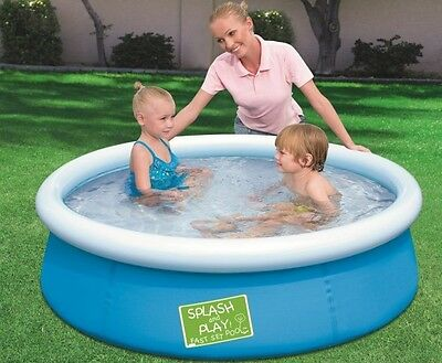 Large Fast Set Pool 1.52m Adult Kids Toddler Bestway Swimming Learn to Swim NEW