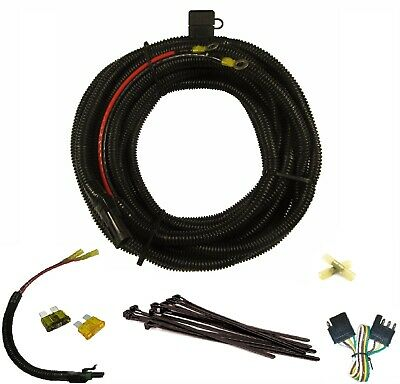 harmar electric lift battery cable wiring harness with connectors, 25ft, new