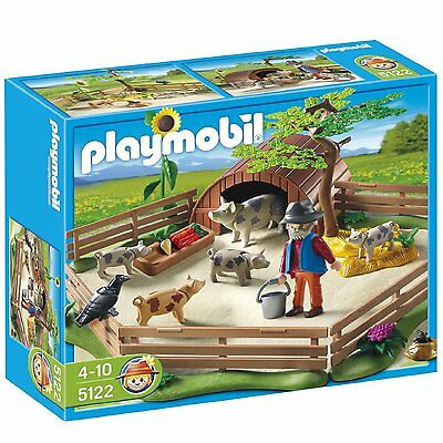 Playmobil Country Pigs Enclosure - Kids Toy - Presents and Gifts for Children