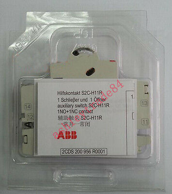 1PC NEW ABB S2C-H11R auxiliary contact