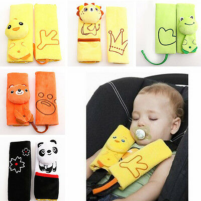 Baby Safety Stroller Car Seat Belt Strap Protective Cover Shoulder Pad Cushion