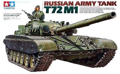 Tamiya 35160 1/35 Scale Military Model Kit Soviet Russian Army Tank T72-M1 MBT