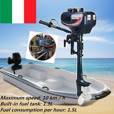 2.5kw 3.5HP Motore Fuoribordo Boat  Engine Outboard with 2-Stroke CDI System