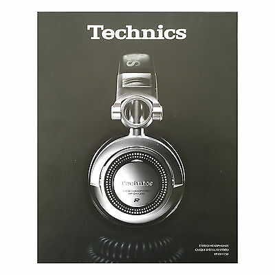CASQUE TECHNICS RP-DH1250E-S NEUF OK iPhone iPod