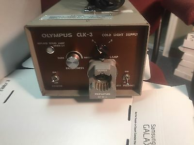 Olympus CLK-3 Cold Light Power Supply Source