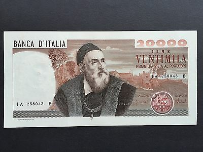 Italy 20000 20,000 Lire P104 Dated 20th December 1974 aUncirculated aUNC