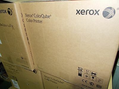 Xerox ColorQube 8570ADNM Workgroup Laser Printer without rainbow wax.