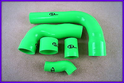 SFS Ford Focus RS Mk2 turbo hoses Lime green